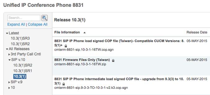 Upgrading Cisco 8831 phone firmware – Vodka RedBull Please